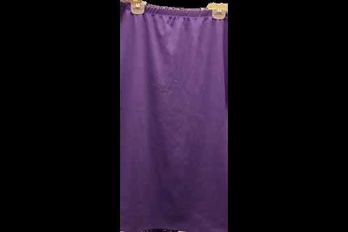 Pencil Skirt in Dark Purple
