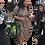 Thumbnail: Celona Hoodie Pocket Dress Micro Camel