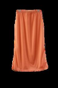 Midi Skirt in Tangerine
