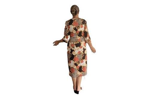 Amanda Dress in Soft Vintage Print