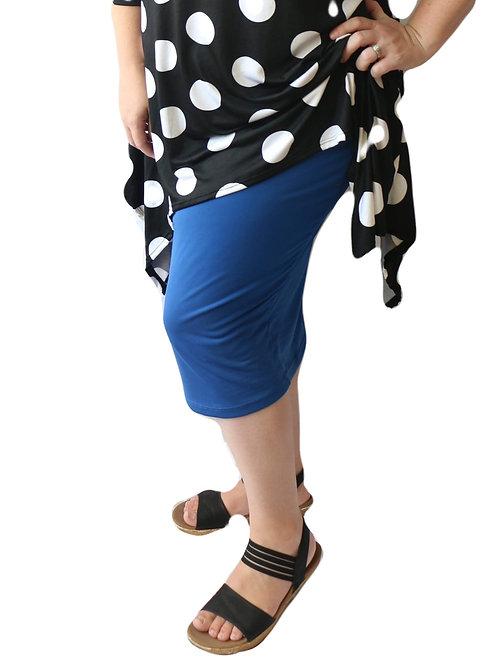 Pencil Skirt Royal Blue