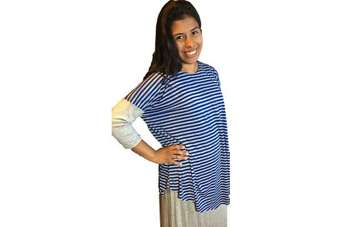 Donna Top with Contrast