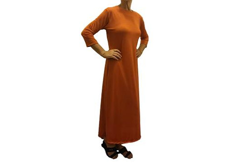 Amy Dress in Pumpkin ITY