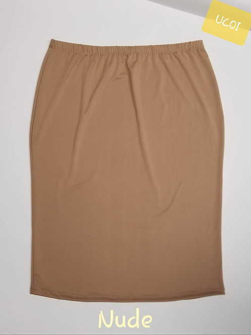 Pencil Skirt Nude