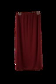 Midi Skirt Burgundy ITY