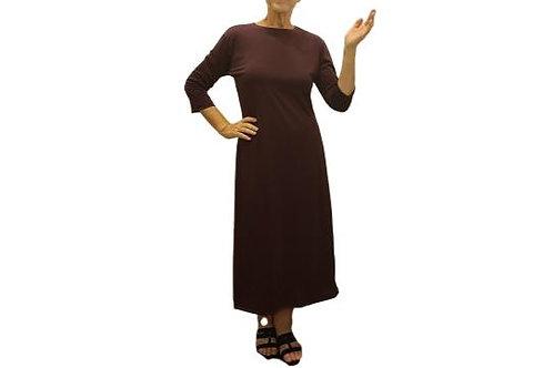Amy Dress in Burgundy ITY