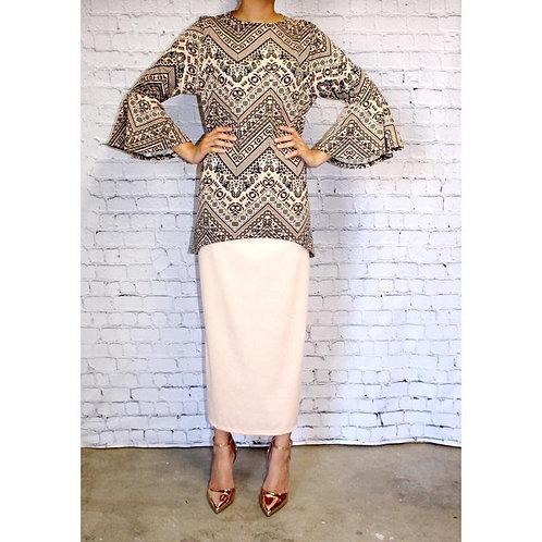 Midi Skirt Off White