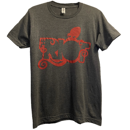 The Riot Cherry Octopus (Heather Charcoal)