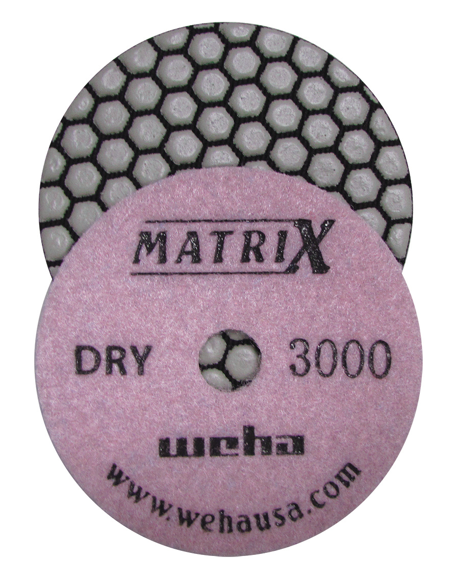 Matrix 7 Step Dry Diamond Pol Pad 3000 Grit