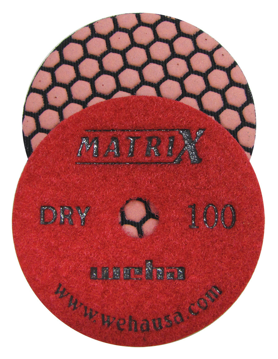 Matrix 7 Step Dry Diamond Pol Pad 100 Grit