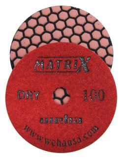 Matrix 7 Step Dry Diamond Pol Pad 100 Grit