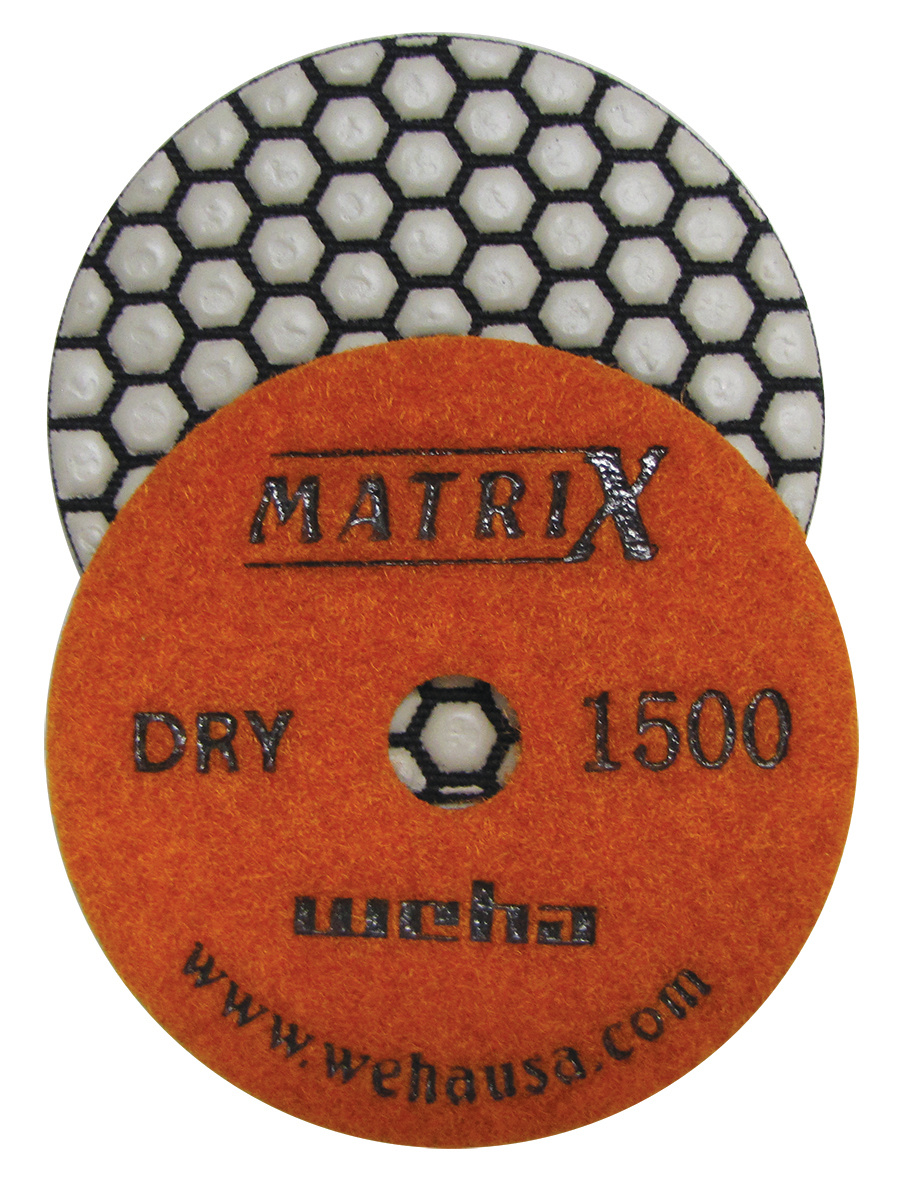 Matrix 7 Step Dry Diamond Pol Pad 1500 Grit