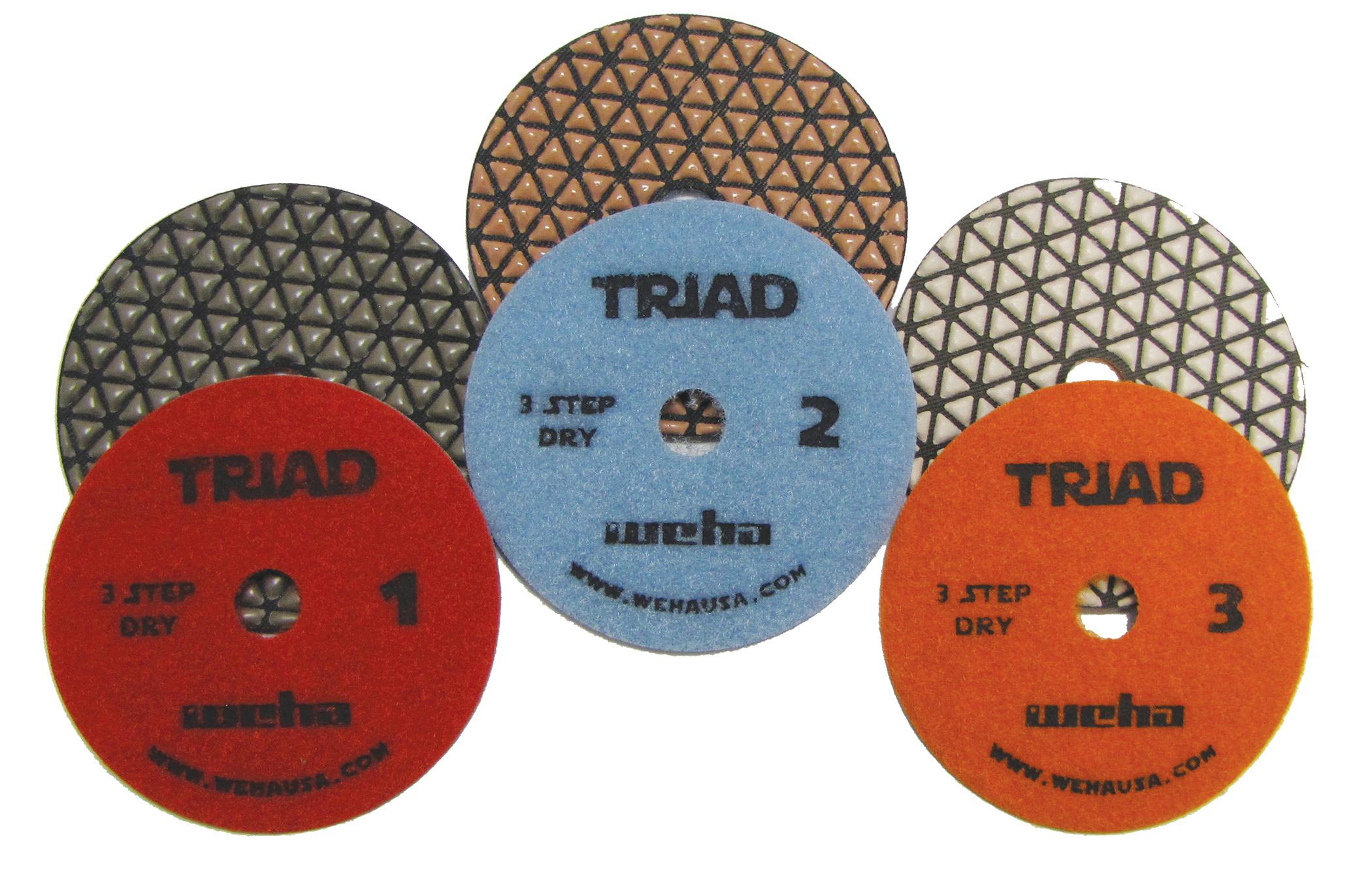 Triad 3 Step Pads Group