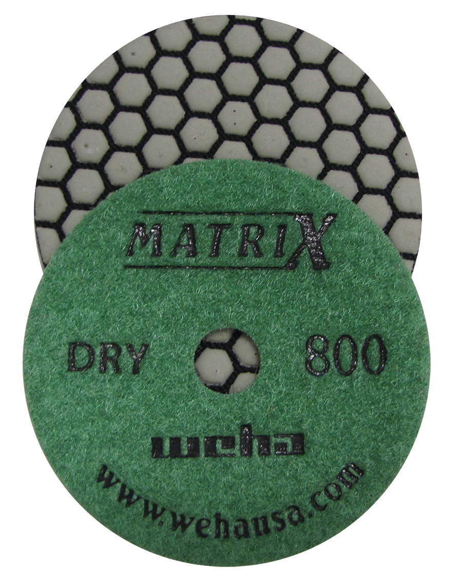 Matrix 7 Step Dry Diamond Pol Pad 800 Grit
