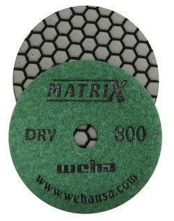 Matrix 7 Step Dry Diamond Pol Pad 800 Grit