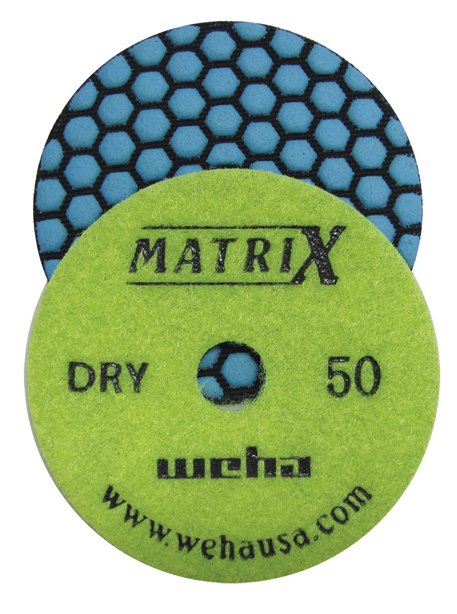 Matrix 7 Step Dry Diamond Pol Pad 50 Grit