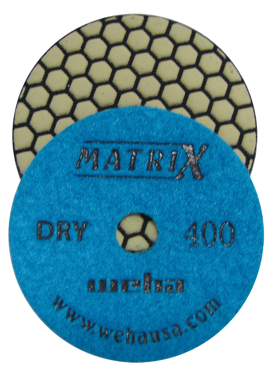Matrix 7 Step Dry Diamond Pol Pad 400 Grit