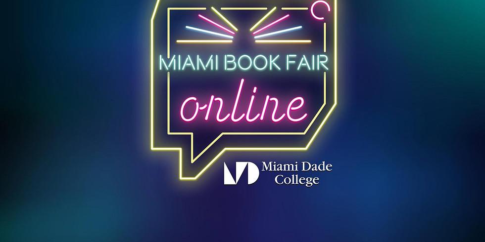 Binky The Mermaid at the virtual Miami Book Fair 2020