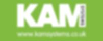 KAM Logo White green.png