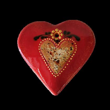 Cœur Bombé décor Coeur