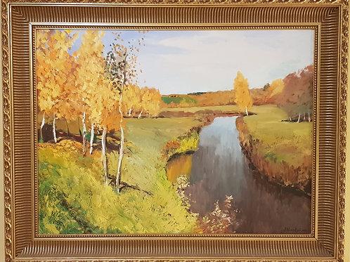 Golden Autumn (after Levitan)