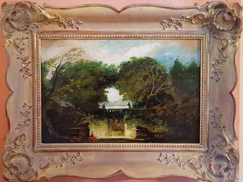 Grotto (After Fragonard)