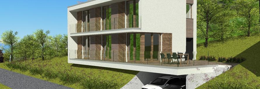 Villa moderne écologique