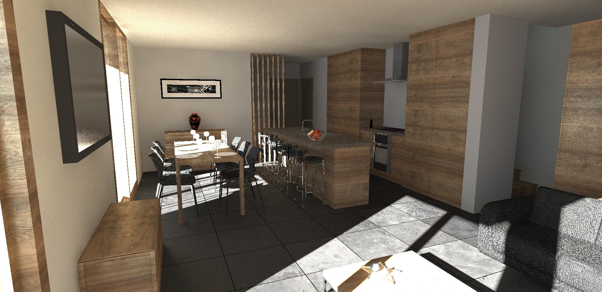 Intérieur - cuisine