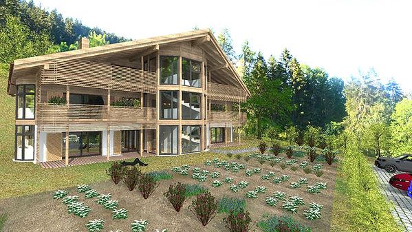 Eco-logement collectif - Arbaz