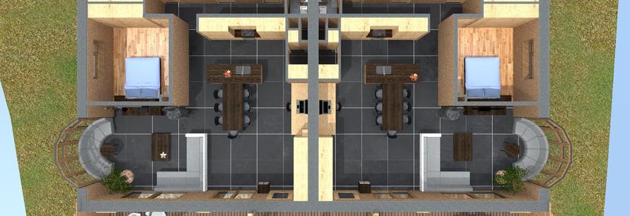 plan rez-de-chaussée