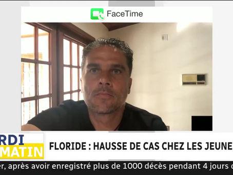 Entrevue à l'émission Midi Info, sur les ondes d'ICI Première, le Dr Thierry Jacquemin