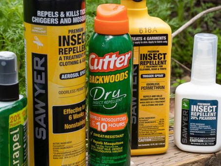 Insect repellents featured in LA Times