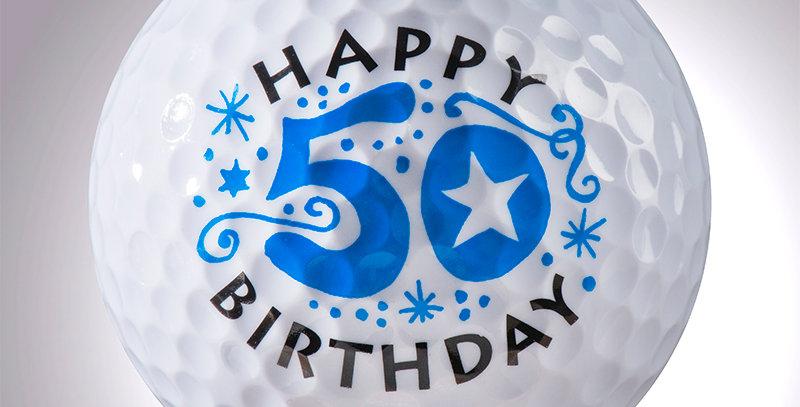 Happy Birthday 50 Jahre magball (Deko)