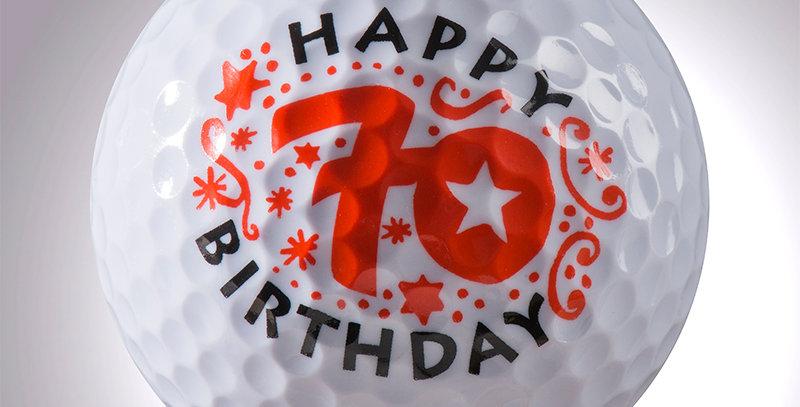 Happy Birthday 70 Jahre magball (Deko)