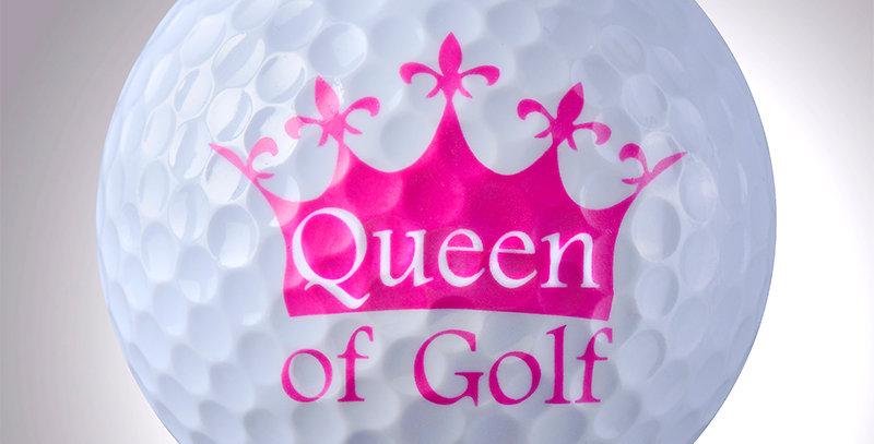 Queen of Golf magball (Deko)