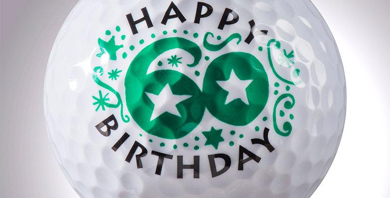 Happy Birthday 60 Jahre magball (Deko)