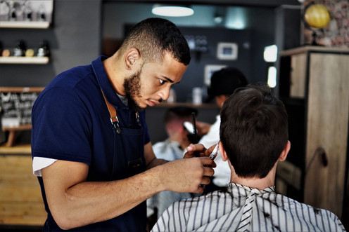 Ear and nose wax at Barber Club