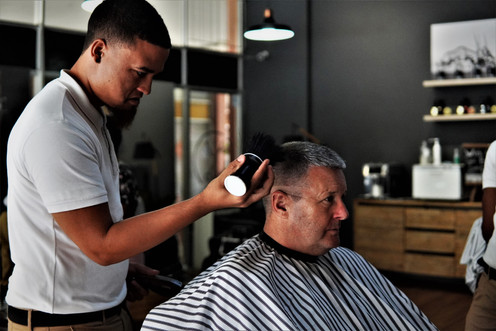 Gents Cut at Barber Club