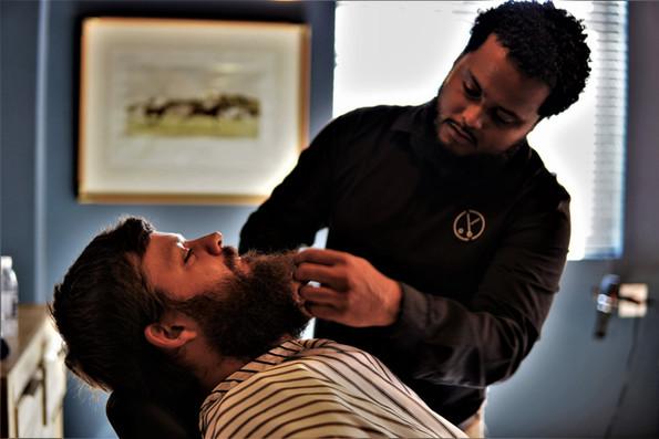 Beard trim @ Barber Club Val de Vie