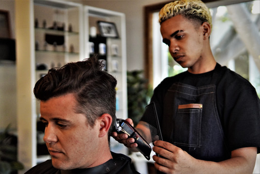 Gents Cut @ Barber Club Franschhoek