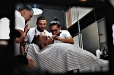 Team effort @ Barber Club