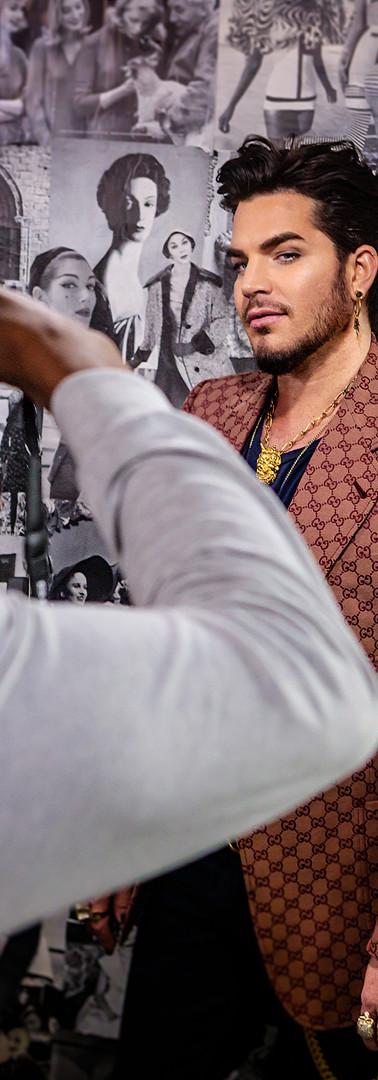 Adam Lambert X Fault Magazine