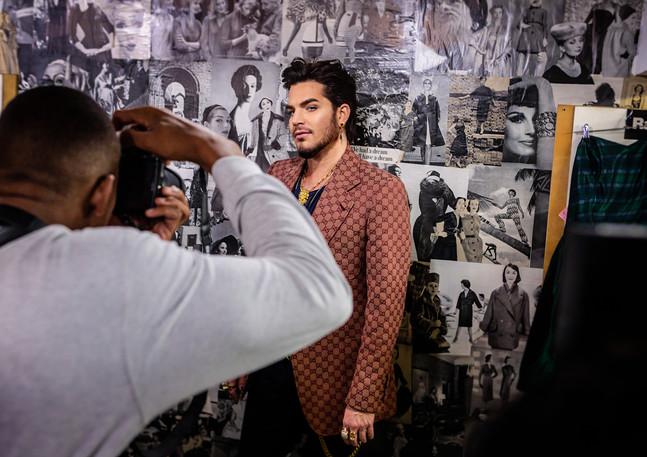Adam Lambert X Fault Mag