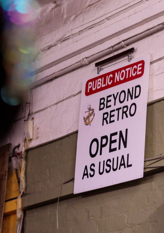 Beyond Retro - open as usual