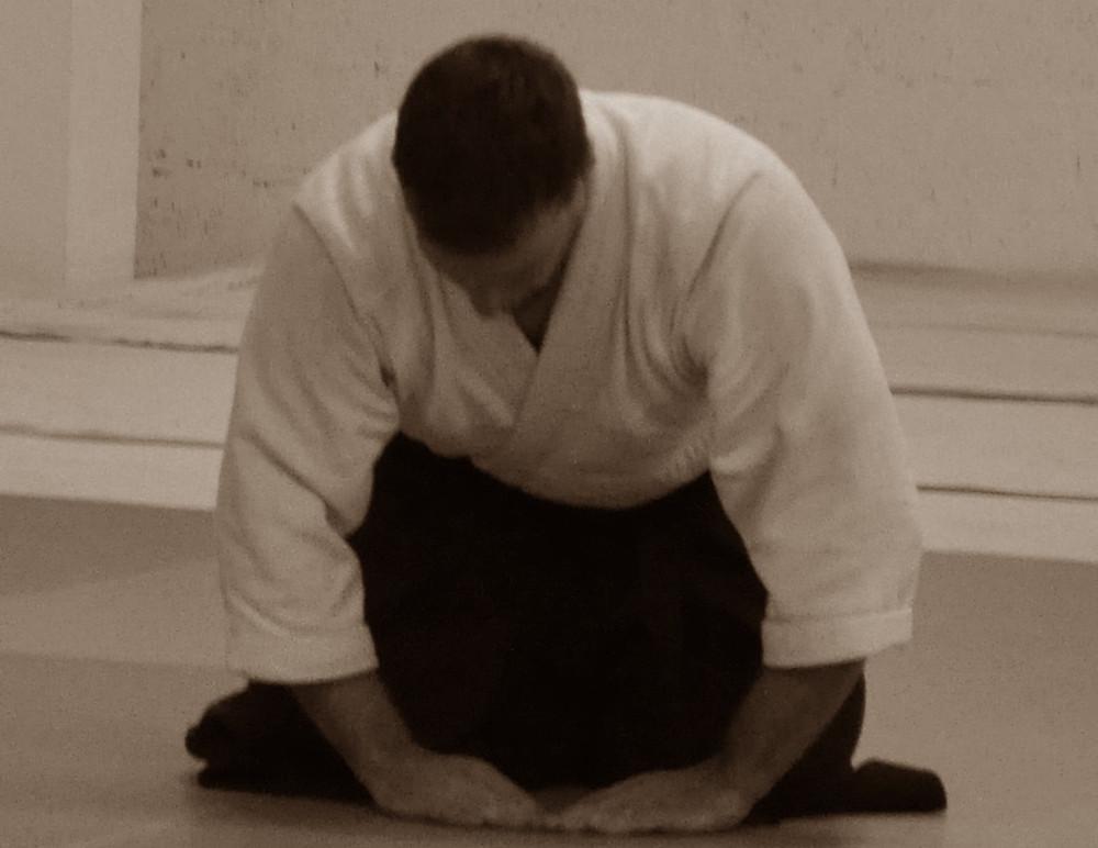 Sensei Perna Bowing | Old City Aikido Philadelphia Martial Arts School