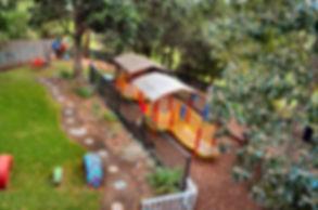 Dunoon Preschool Outdoor space