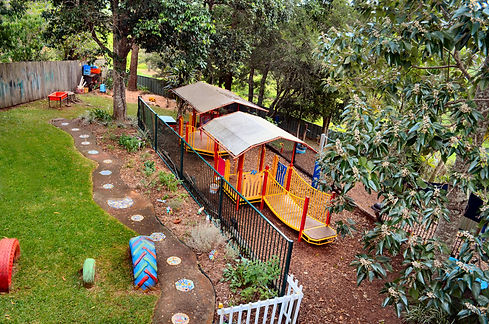 Dunoon Preschool Outdoor space