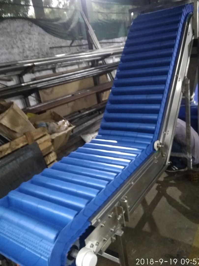 INclined Modular Bucket Conveyor
