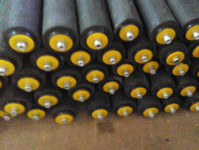 Rubber Coated Rollers - Econveyors.in