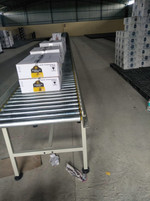 Gravity Roller Conveyors by Excel Convey